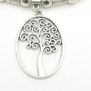 10units Tree of life Necklace pendant jewelry finding suppliers D-3-84