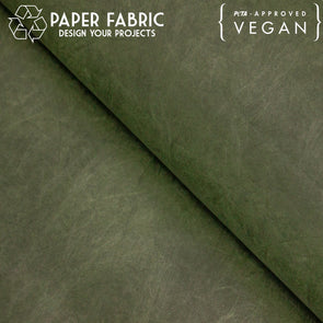 Green washable paper fabric kraft paper 100x100cm PAF-12