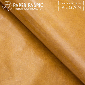 Beige with recyclable TPU washable paper fabric kraft paper 100x100cm PAF-14