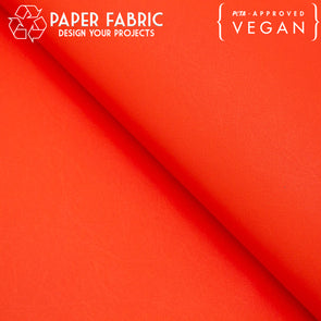 Red washable paper fabric kraft paper 100x80cm PAF-22