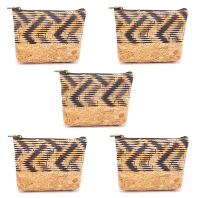 Pattern zipper coin and card purse BAG-421-C (5 units)