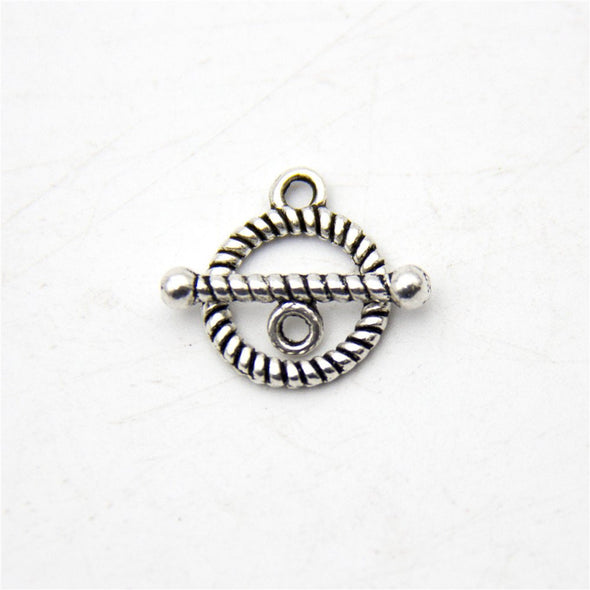 20pcs toggle clasp OT Clasp antique sliver jewelry finding supply D-6-159