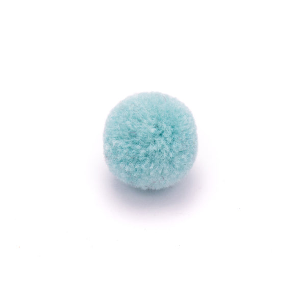 10pcs17mm Colored Plush ball for jewelry handmade jewelry supplies jewelry finding D-3-452
