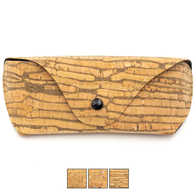 Vegan Cork Glasses Case L-040