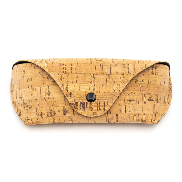 Cork Glasses Case Lined with Vegan Leather L-040