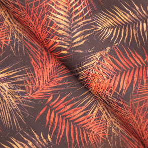 Tree leaf Pine needle pattern cork fabric COF-268