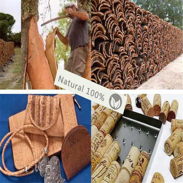 10 meters Natural 3mm round cork cord   COR-169