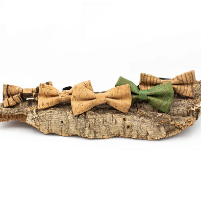 Cork Bow Tie  For Men, Party Accessories L-039