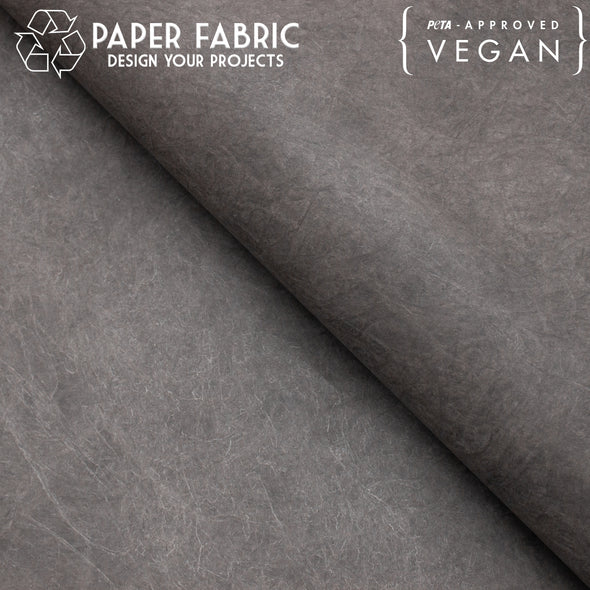 Dark grey washable paper fabric kraft paper 100x100cm PAF-11