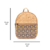 Pretty printed women backpack  BAG-627-AB