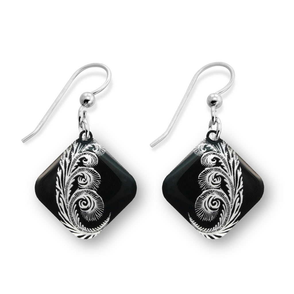 Rose of Jericho Earrings - Diamond