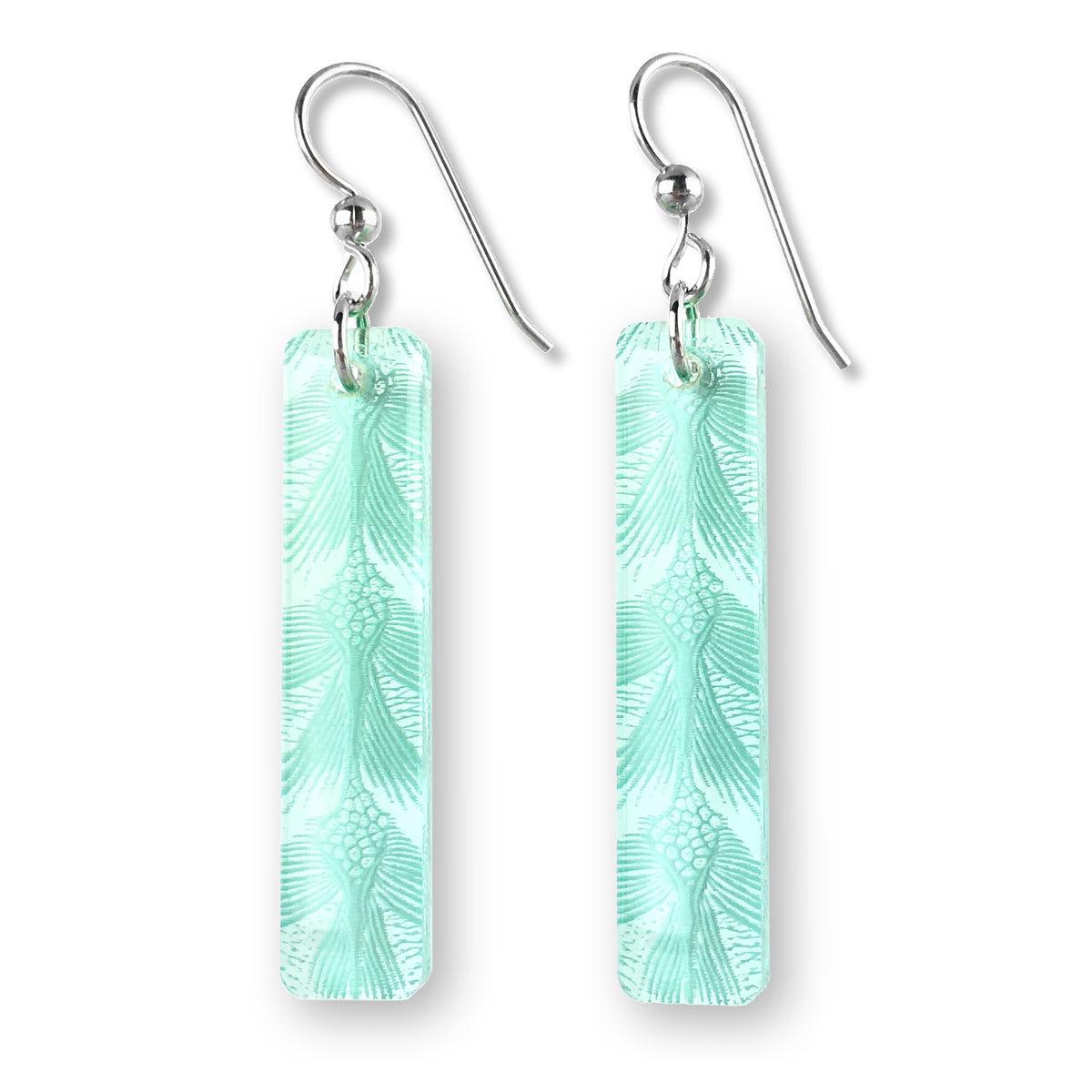Sea Turtle Earrings - Small Bar