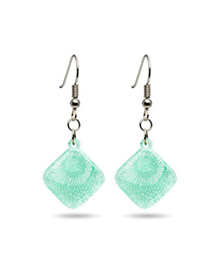 Sea Crustacean Earrings - Diamond