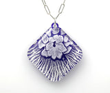 Flower (Mollsuca - Mussel Shell) Microcosm Necklace