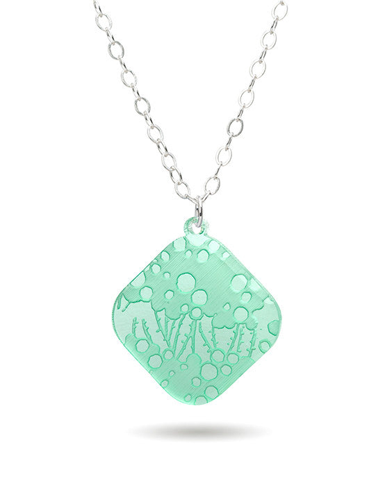 Seagrass Necklace - Large Diamond