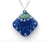 Starfish Necklace - Diamond Shaped - Blue Green - From Lab Partners Jewelry