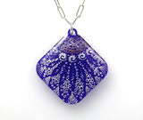 Starfish Necklace - Diamond Shaped - Purple - From Lab Partners Jewelry