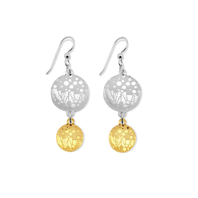 Seagrass Earrings - 2 Drop