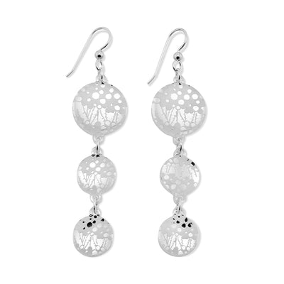 Seagrass Earrings - 3 Drop