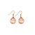 Seagrass Earrings - Small Teardrop
