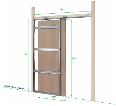 Designed specifically for UK door sizes so that each Rocket Pocket door kit fits first time...every time! No cutting bending or size adjustment necessary ...  sc 1 st  Rocket Door Frames & Rocket Pocket Door Product Range \u2013 Rocket Door Frames