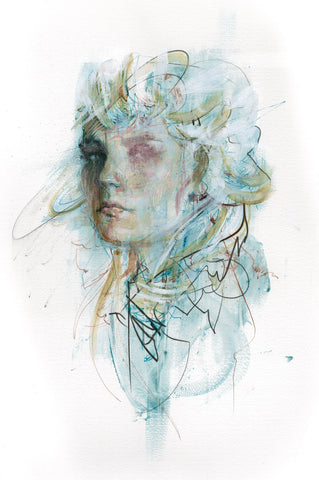 """Money Tree"" ORIGINAL WORK BY CARNE GRIFFITHS"