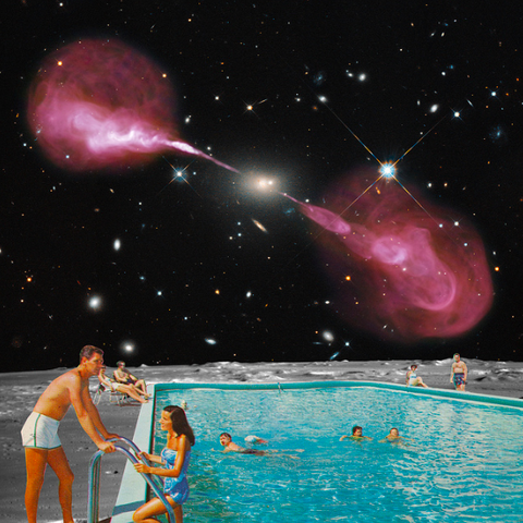 """Moon Pool 4"" Limited Edition Print By Steven Quinn"