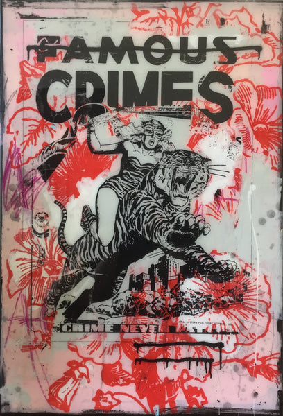"""Crimes (Resin)"" Original Work By Steve Smythe"