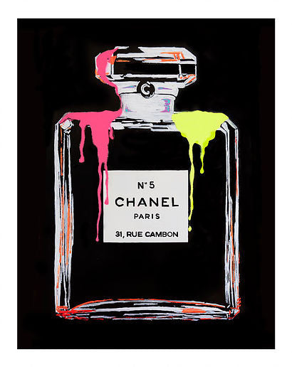 """Neon Chanel no 5"" LOUIS-NICOLAS DARBON"