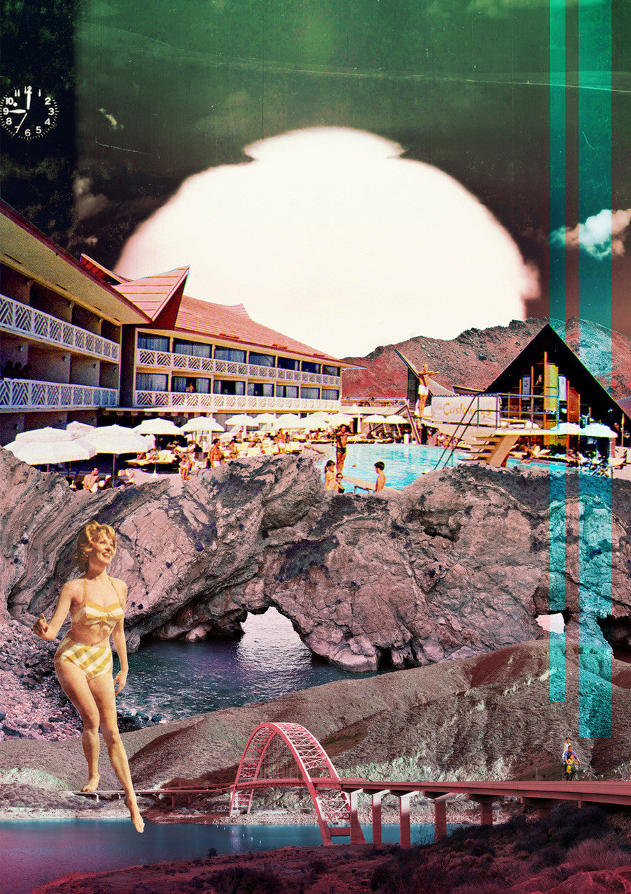 """Apocalypse Beach"" Limited Edition By Alexandra Gallagher"