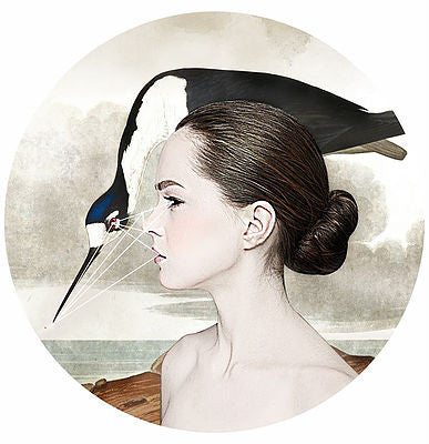 """Bow Your Head"" Giclée By Alexandra Gallagher"