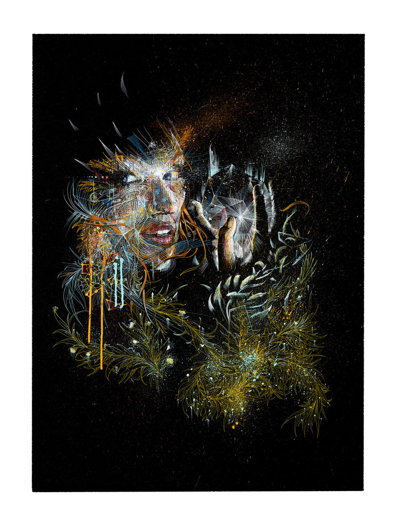 """BY THE NIGHT""  CARNE GRIFFITHS"