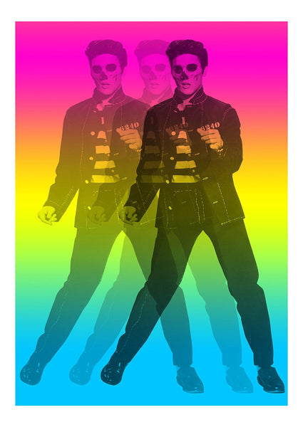 """Dead Elvis Trio"" Limited edition By Steven Quinn"