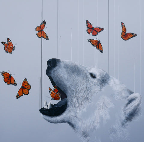"""Exhale"" Limited Edition By Louise McNaught"