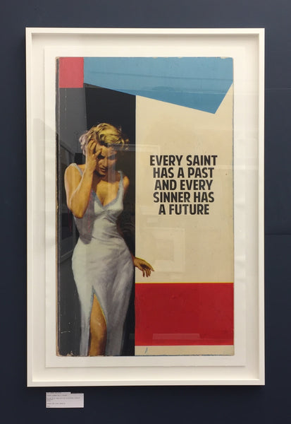"THE CONNOR BROTHERS ""EVER SAINT HAS PAST AND EVERY SINNER HAS A FUTURE"" - FRAMED"