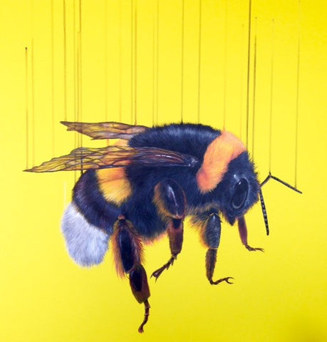 """Free Bee"" Louise McNaught Print"