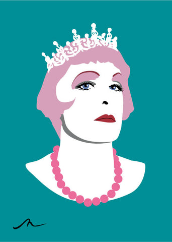 """Dame Claire"" Limited Edition By Michelle Mildenhall"