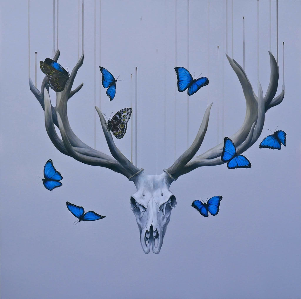 """Born to die"" Original art work, Louise McNaught"