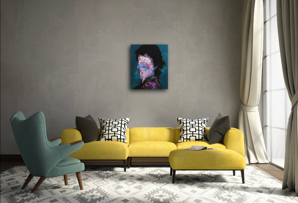 """Pose"" Original Painting by Jean-Luc Almond"
