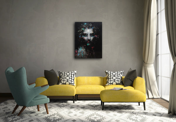 """Constance"" Original Painting by Jean-Luc Almond"