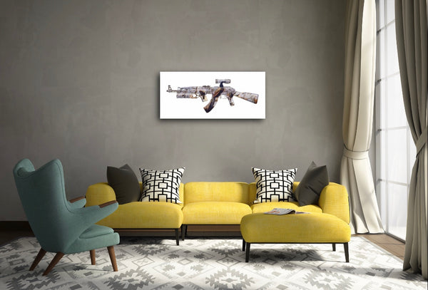 """AK-47 (Concert of Birds)"" Limited Edition By Magnus Gjoen"