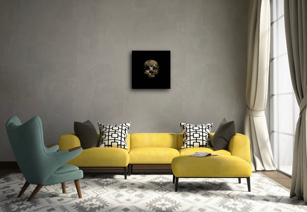 """There Is Strong Shadow Where There Is Much Light (Yellow)"" Limited Edition By Magnus Gjoen"