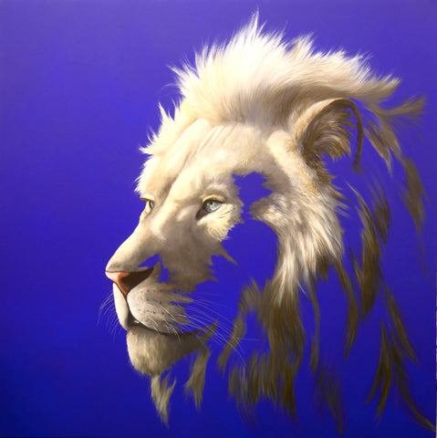 """King of a Fading Empire"" Limited Edition By Louise McNaught"