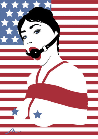 """Land Of The Free"" Limited Edition By Michelle Mildenhall"