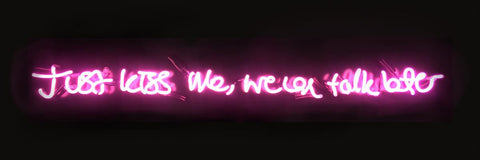 """Action Over Word"" Neon By Lauren Baker"