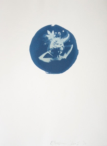 "'Liza 1"" Cyanotype By Rosie Emerson"