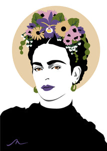"""Miss Kahlo"" Limited Edition By Michelle Mildenhall"