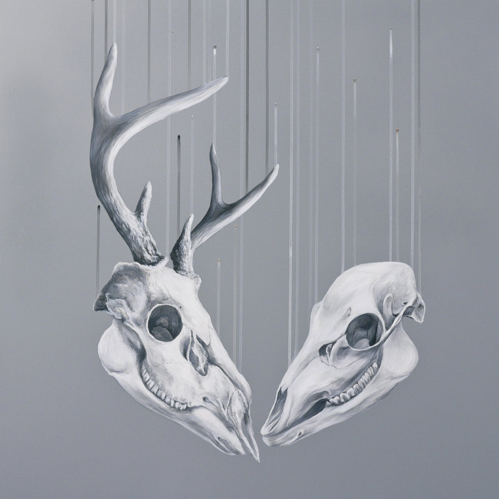"""We Will Meet Again"", (Capreolus Capreolus), Original work by Louise McNaught"