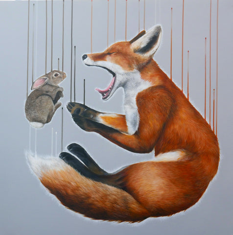 'Vulpes Dream' Limited Edition By Louise McNaught