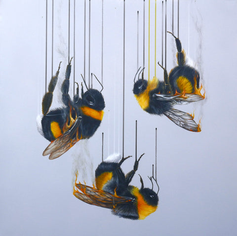 'Ashes, Ashes, We ALL Fall Down' Limited Edition By Louise McNaught